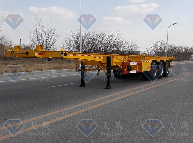 STY9402TWY危险品骨架运输半挂车
