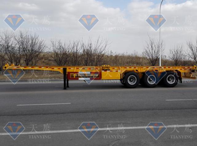 STY9402TJZ集装箱运输半挂车