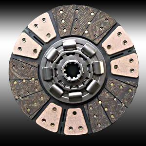 430小八三级减震双铜基片总成