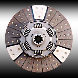 430豪沃离合器铜基片总成