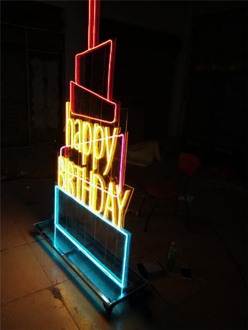 霓虹灯软灯带发光字制作