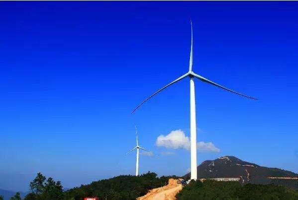 中电投江西新干七琴城上风电场项目
