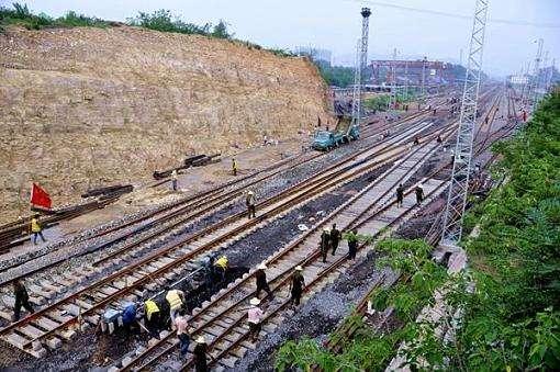 中铁邯长铁路项目