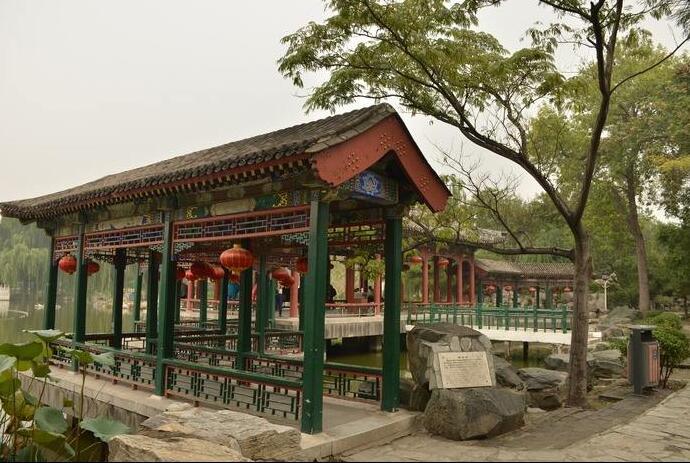 郑州室外防腐木凉亭