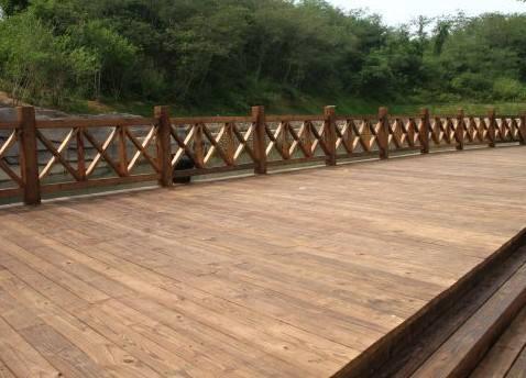 郑州碳化防腐木地板