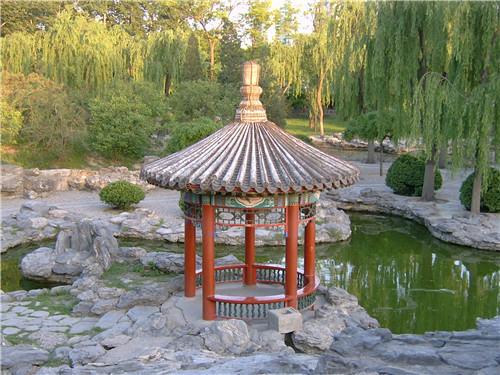 郑州花园防腐木凉亭