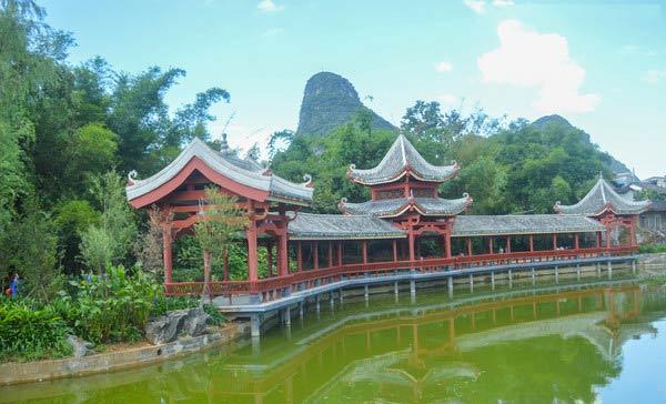 郑州古风长亭设计