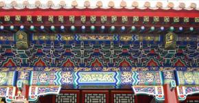 郑州中式古建门头