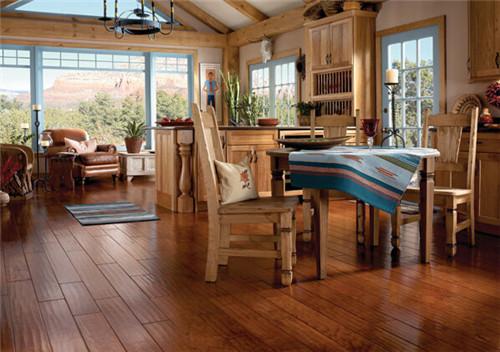 河南防腐木地板安装