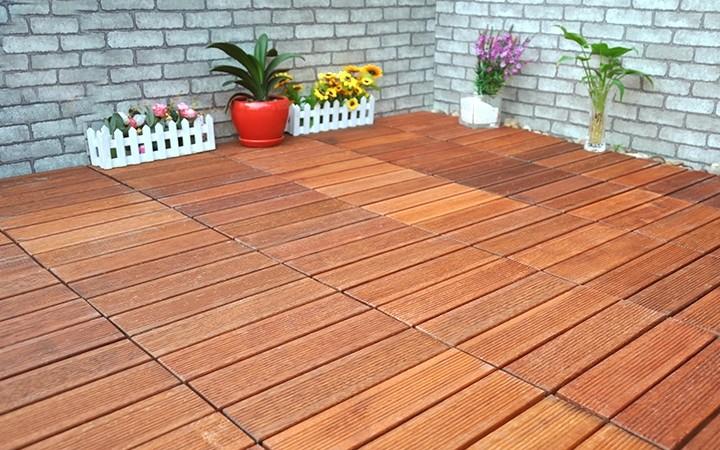 防腐木地板安裝