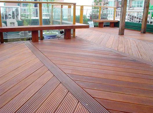 郑州防腐木地板施工