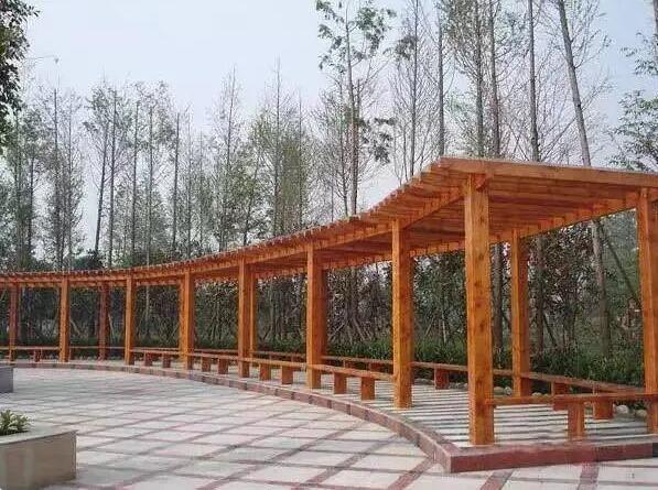 滿洲里防腐木廠家