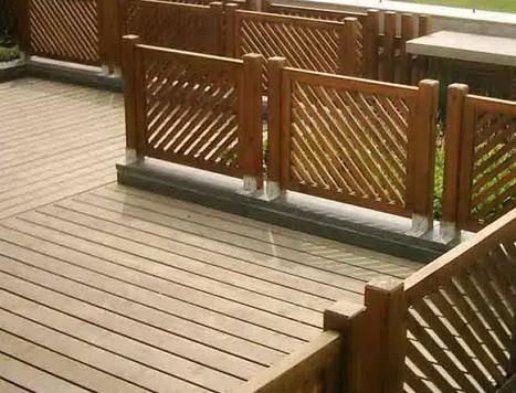 河南防腐木圍欄