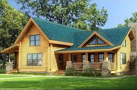 防腐木木屋的好处