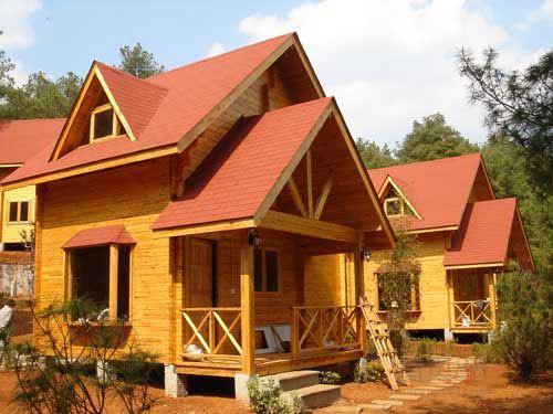 洛�防腐木木屋