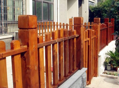 郑州防腐木护栏