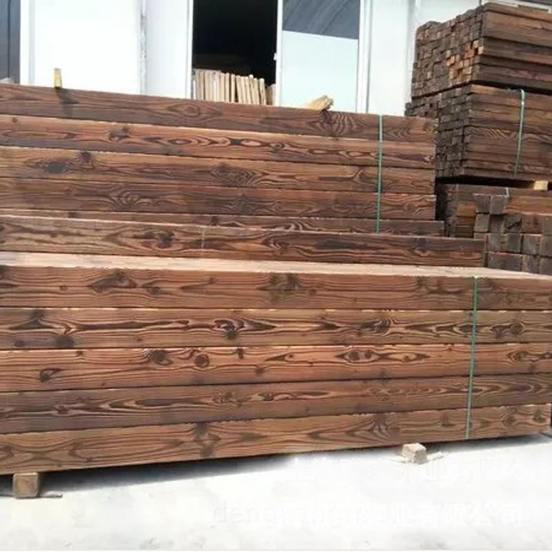 郑州碳化木批发