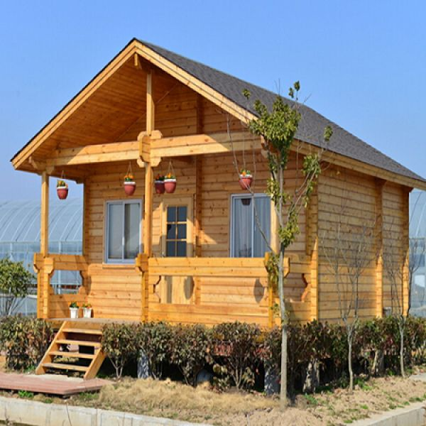 郑州防腐木木屋别墅