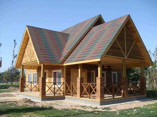木屋建造�S家