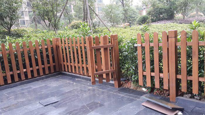 河南防腐木栅栏