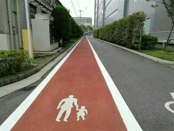 彩色混凝土道路