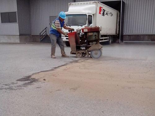 混凝土路面施工