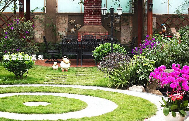別墅庭院綠化設計