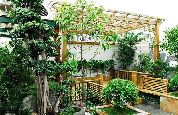 小型私家花园设计