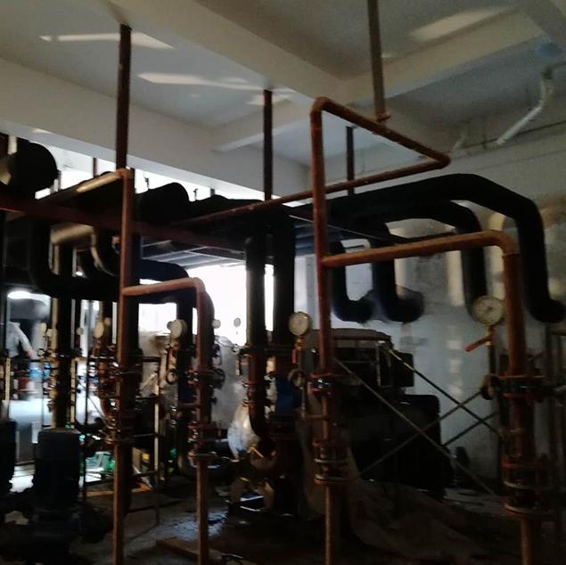 空调制冷机房生产设备