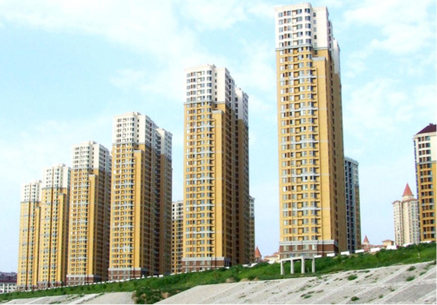 武汉太子湖畔新苑外墙涂料