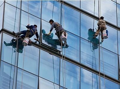 贵州玻璃外墙清洗