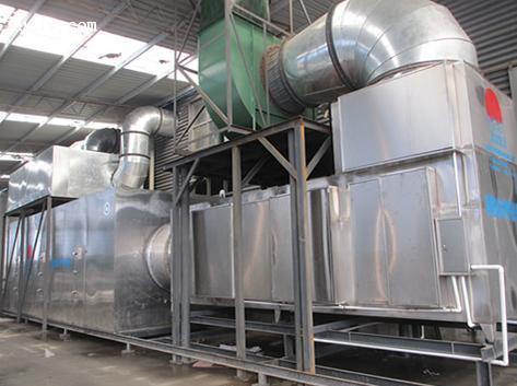 东莞市某机械公司喷漆废气处理