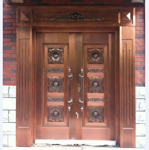 武汉双开铜门