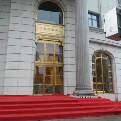 酒店铜门案列