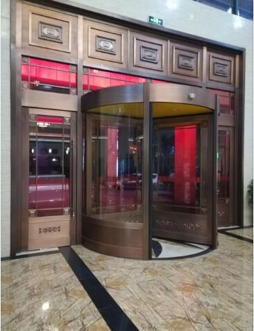 酒店铜门展示