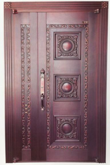 单开铜门05