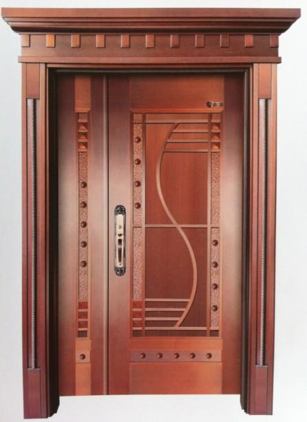 单开铜门06
