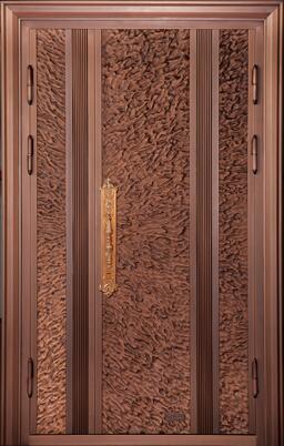 单开铜门09