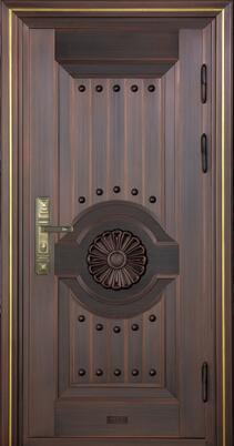 单开铜门10