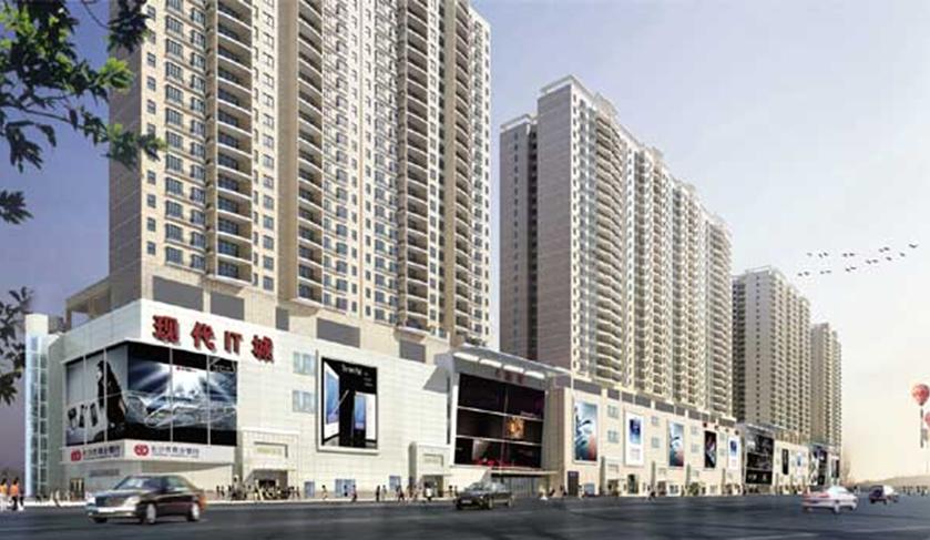湖南高桥大市场现代商贸城