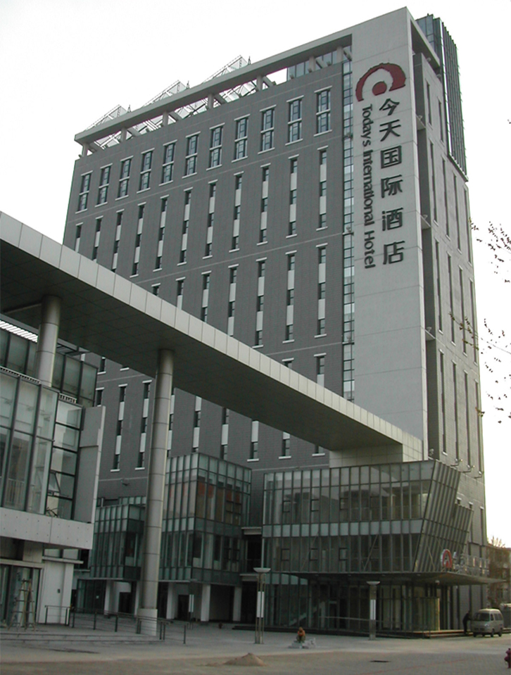 今天国际酒店配电工程
