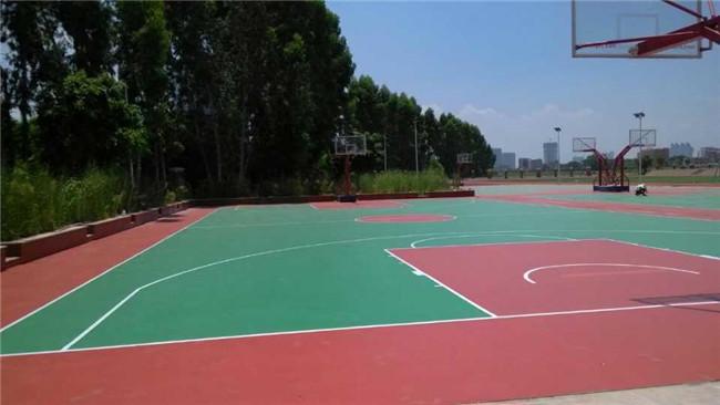 貴陽矽PU籃球場