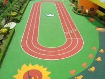 贵州幼儿园塑胶地面