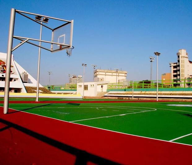 貴州矽PU籃球場施工