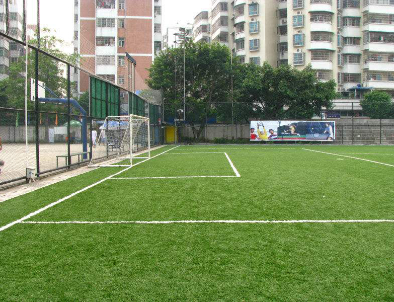 人造草足球��