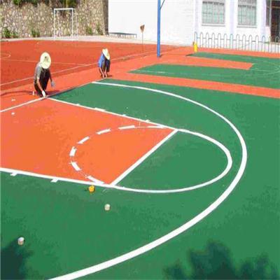 貴州矽PU籃球場