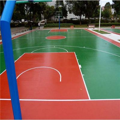 贵州硅PU篮球场生产厂家