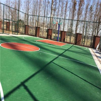 贵州塑胶篮球场哪家好