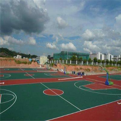 环保型型硅PU篮球场