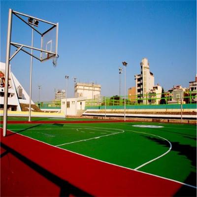 籃球場材料